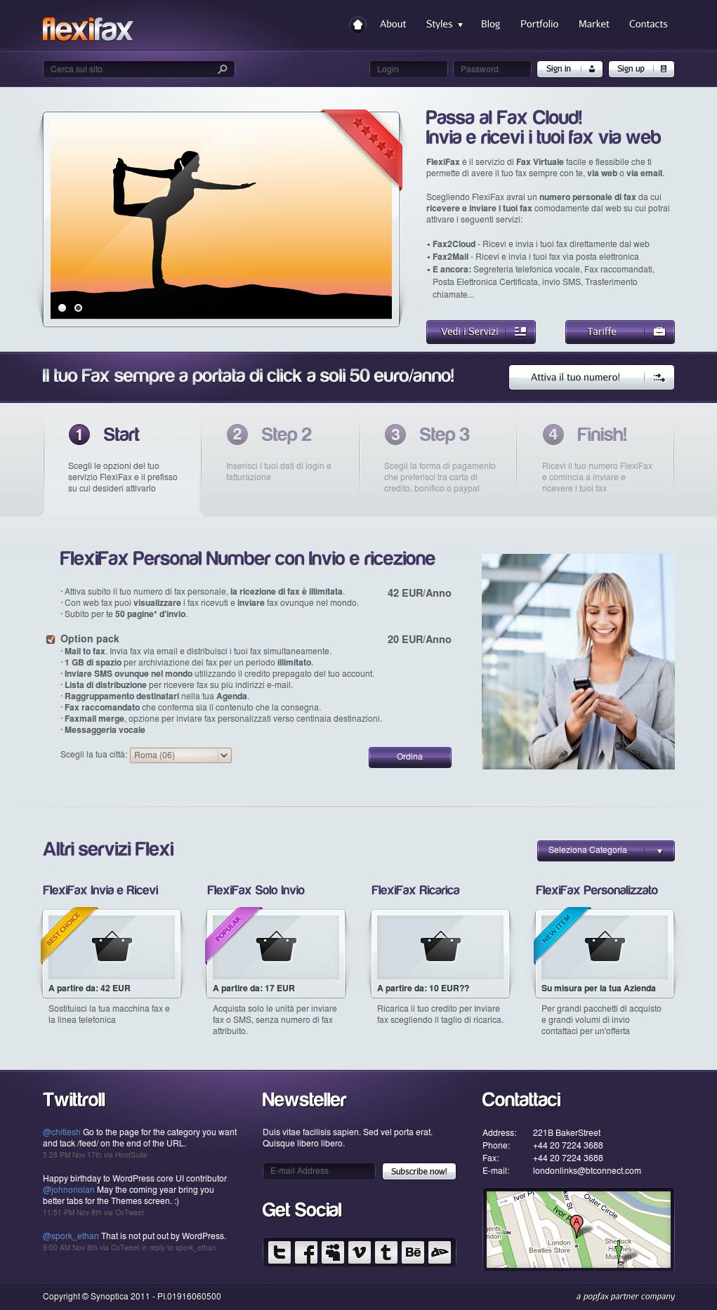 FlexiFax - il tuo Fax Virtuale